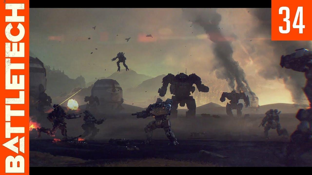 Let's Play BattleTech - Episode 34 - Locura, Assault on Coromodir