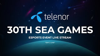 30th 2019 Philippines SEA Games - Esports Event Day 2 Live - Powered By Telenor