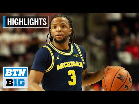 The Best Of Michigan Wolverines Basketball: 2019-2020 Top Plays | B1G Basketball