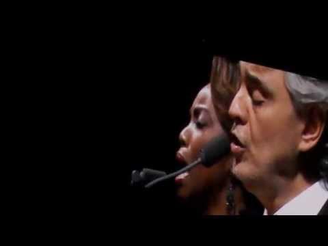 Amazing Grace- Andrea Bocelli - Heather Headley-  Allstate Arena, December 13th 2014