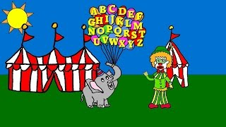 Alphabet with Clarence Clown - Circus Theme Music