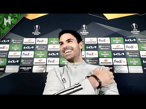 Fans free to protest AND cheer in team coach I Arsenal v Villarreal I Arteta press conference