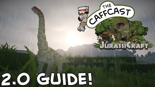 How To Make Dinosaurs - The Jurassicraft 2 0 Guide (Minecraft 1.8)