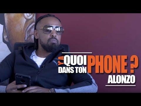 ALONZO : Sa Playlist Pour Y'a Quoi Dans Ton Phone ?