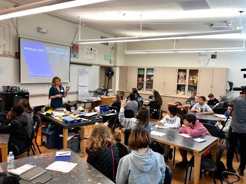 Velodyne Lidar in the Classroom at Montera Middle School