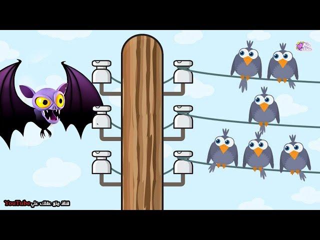 لماذا لا تُصعَق الطيور التي تقف على اسلاك الكهرباء بينما  تموت الخفافيش ؟!