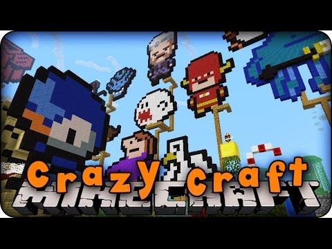 Minecraft mods crazy craft 2 0 ep 114 server tour superhero