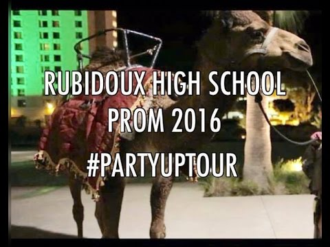 "Party Up Tour - Rubidoux High School Prom 2016 ""Arabian Nights"""