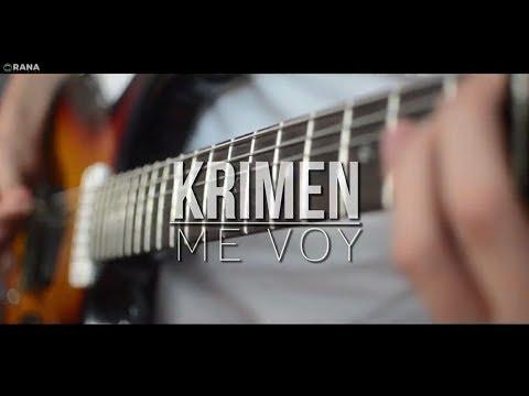 KRIMEN - Me voy (Vídeo oficial)