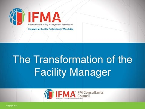 2016 05 26 10 00 FMCC  Transformation Of The Facility Manager