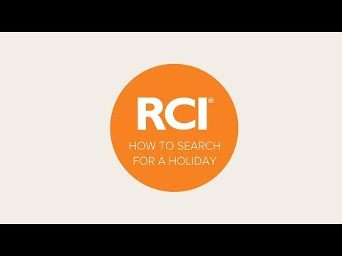 How To Search For An RCI Points Holiday On RCI.com