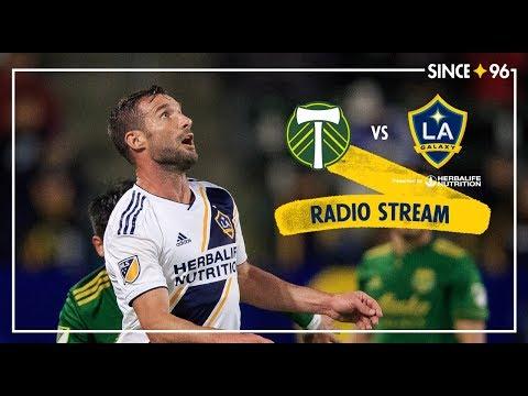 LA Galaxy Vs Portland Timbers | Radio Live Stream
