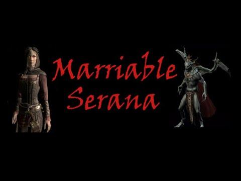 TES V Skyrim (Marriable Serana) #45. Женитьба на Серане