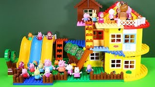Peppa Pig Blocks Mega House Construction Sets Creative Toys For Kids #9