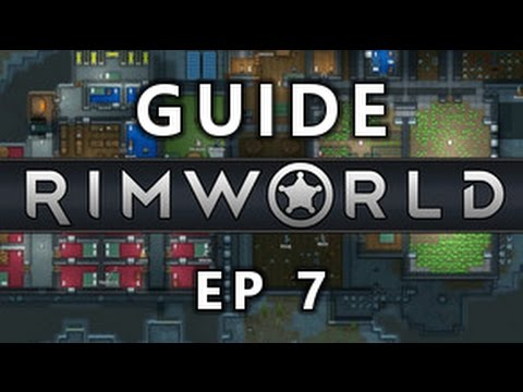 RIMWORLD EP 7 - Commerce orbitale et production de drogue