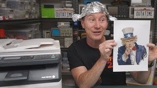 EEVblog #825 - Your Printer Is Spying On You!