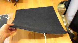 Обзор коврик с подогревом двухслойный (Тепловичок)