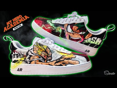 Full Custom | MY HERO ACADEMIA Air Force 1 by Sierato