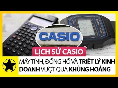 Lịch Sử Hãng Casio - Máy Tính, Đồng Hồ Và Triết Lý Kinh Doanh Vượt Qua Khủng Hoảng