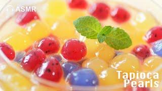 【Eng Sub】手工水果粉圓 天然水果 沒有人工色素 Tapioca Ball Boba Drinks Recipe thumbnail