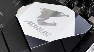 استعراض للوحة الرئيسية GIGABYTE AORUS Z270X Gaming 5