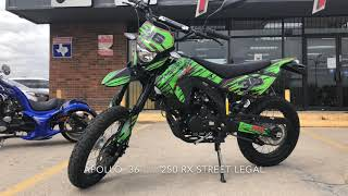 APOLLO 250CC DB 36 RX 250 FULL DEMO TEST DRIVE REVIEW AND OVERVIEW