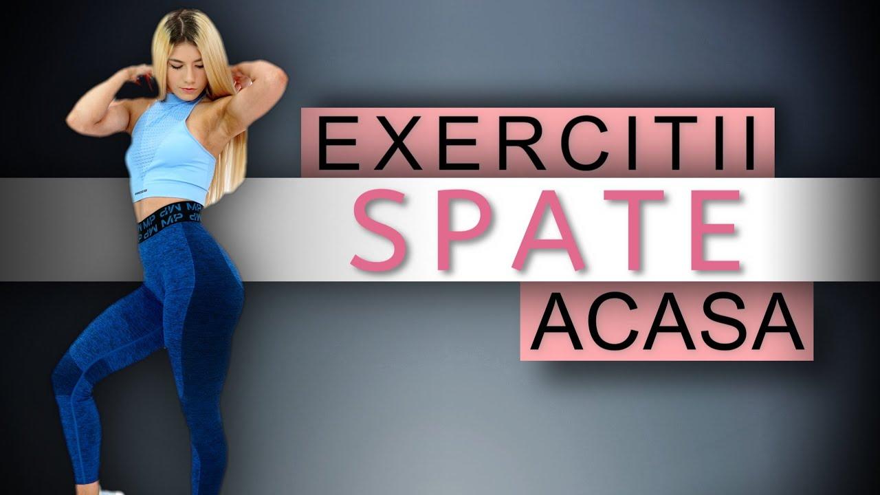 exercitii pentru slabire spate)
