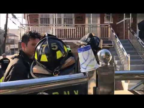 FDNY BOX 2865 - MAJOR 5TH ALARM FIRE OLMSTEAD AVENUE IN BRONX, NEW YORK CITY.