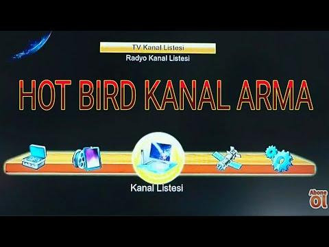 Hot Bird Kanal Arama, Hot Bird  şebeke Arama
