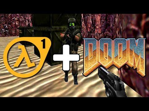 Half-Life в игре DOOM! ● Paranoid МОД Обзор