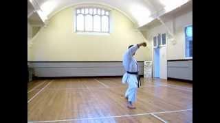 Heian Shodan - SLOW (Shotokan Karate Kata)