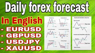 ( 9 july ) daily forex forecast    EURUSD / GBPUSD / USDJPY / GOLD | forex trading | English