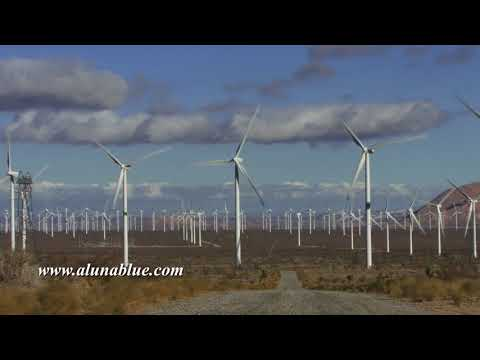 Wind Turbine 3002 HD Stock Footage