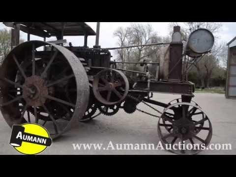 1912-1914 Minneapolis Threshing Machine 25-50 Tractor - Aumann Auctions