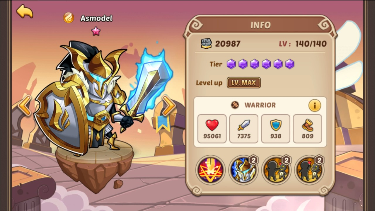 Idle Heroes - Tier List Discussion Part 2 (Warriors)
