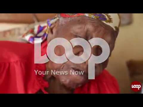 Jamaica's oldest woman in the world 117yrs miss violet moss brown