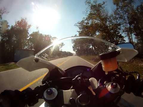 CBR600RR Speed Cruising