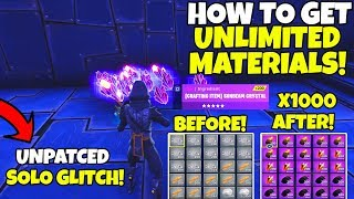 *EASY* How To Get Unlimited Materials & Items in Fortnite Save The World (Solo Duplication Glitch)