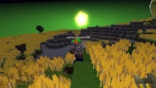 Minecraft - Race To The Moon - Wheat Land! [41]