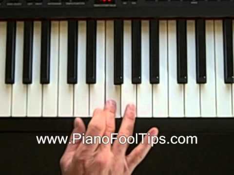 Free Video Piano Lessons Finding The Dm Chord Youtube