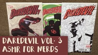 Daredevil Vol. 3 ASMR Comic Reading - Page Turning, Comic Book, Whisper