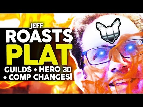 Overwatch - Jeff ROASTS Plat! Talks ROLE QUEUE and HERO 30!! thumbnail