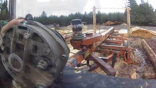 Ремонт генератора пилорами Wood-Mizer LT-40 D33