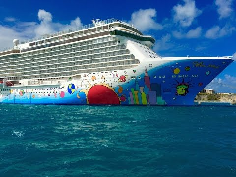 Norwegian Cruise Line Breakaway New York City NYC to Bermuda