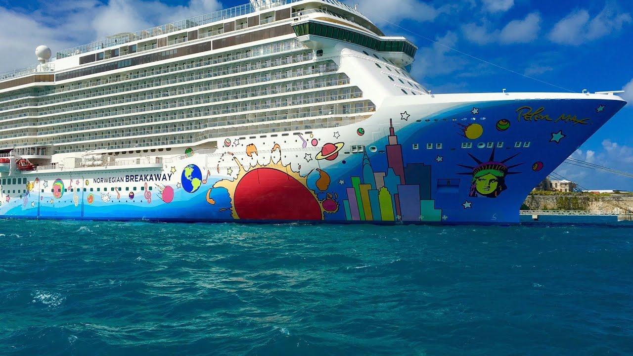 Norwegian Cruise Line Breakaway New York City NYC To