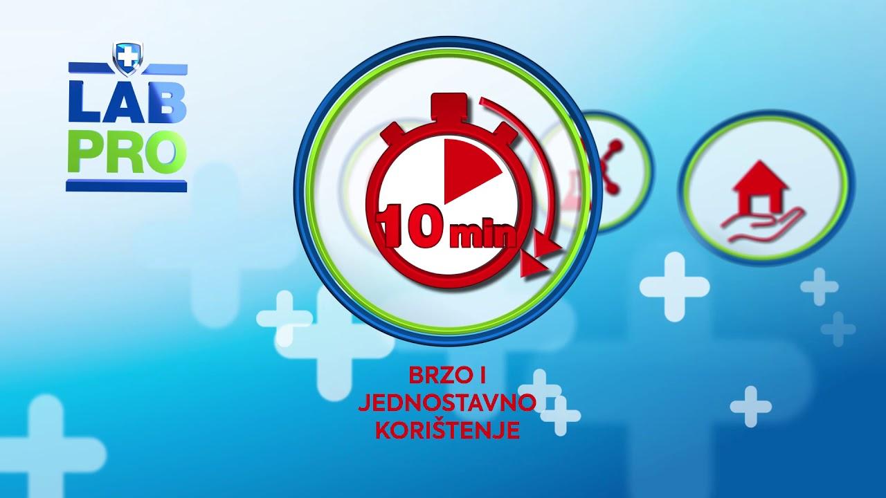LAB PRO   Profesionalna sredstva za dezinfekciju, čišćenje i higijenu doma (30 sec)