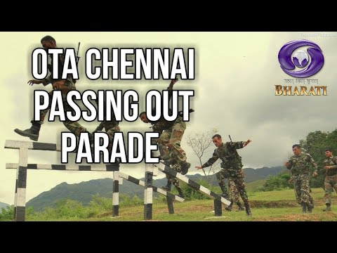 Passingh out Parade at offficers training from Chennai(07/03/2020)