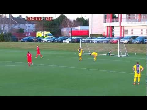 Samed Yesil's first LFC goal