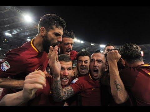 Roma 2-1 Lazio commento Zampa, Radio Rai, Caressa, Radio Roma, Premium, De Angelis HD
