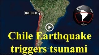 Tsunami Sparked After Huge Chile Earthquake